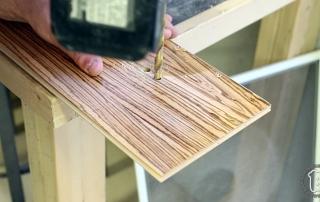 Table Saw to Hexagon into Hardwood Floor
