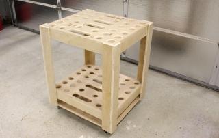DIY Garden Tool Storage Cart