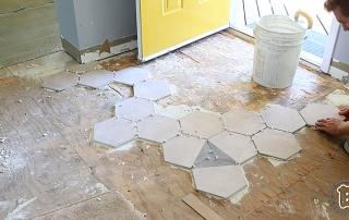 Tile Perimeter Pattern